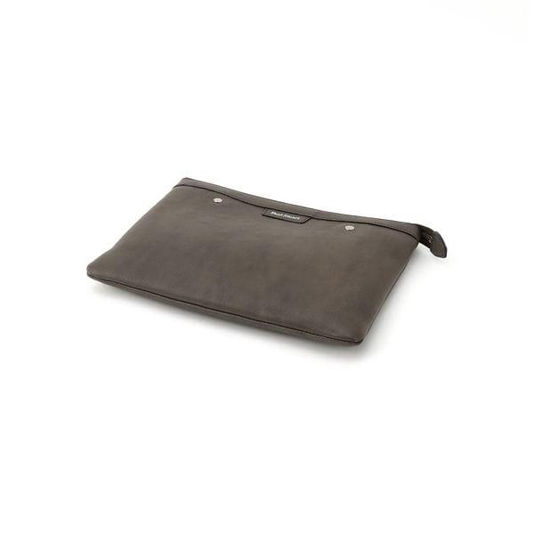 レザークラッチバッグ(ポーチ付) B5サイズ