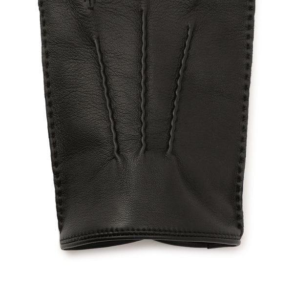 [ 25%OFF ] レザーグローブ/カシミヤライニング(手袋)