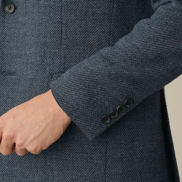 [ 21%OFF ] カシミヤシルクブレンドウールホップサックジャケット
