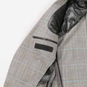 【限定モデル】「STUART'S TRAVELER」グレンチェックジャケット/3P対応(デタッチャブルダウンパッド仕様)