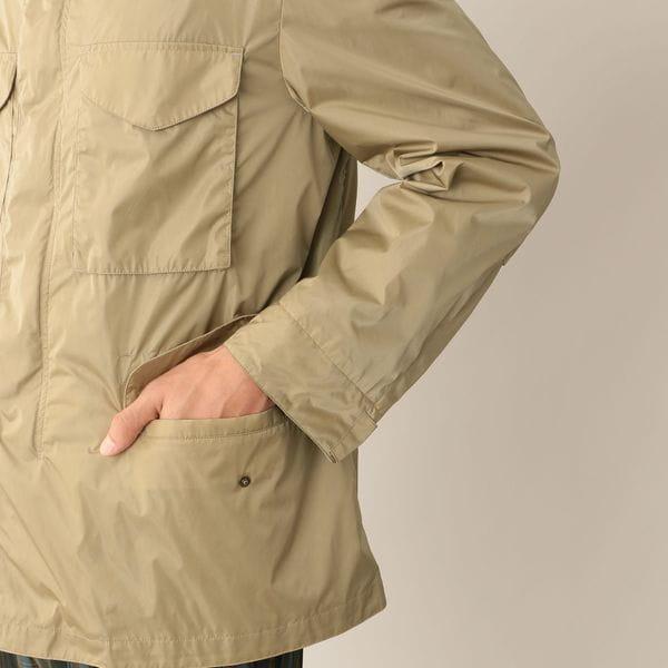 [ 25%OFF ] ハイカウントリモンタタフタM-65フィールドジャケット/ブルゾン(撥水/花粉プロテクト)