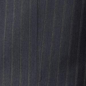 【EASTGATE MODEL】グレイブルーストライプウールシャンブレースーツ/セットアップ