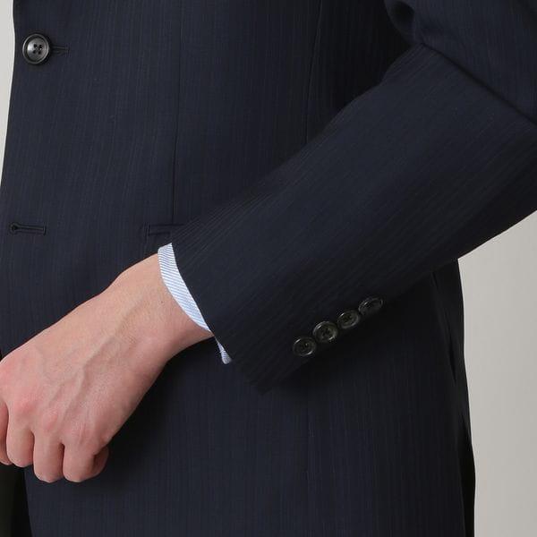 【EASTGATE MODEL】オルタネイトストライプウールスーツ/セットアップ
