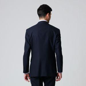 【EASTGATE MODEL】「10month」ブルーシャドウストライプウールスーツ/セットアップ 21FW