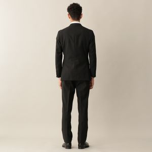 [ 20%OFF ] 【YORK MODEL】ウールシャドウストライプスーツ/セットアップ(ビジネス/リクルート/オケージョン対応)