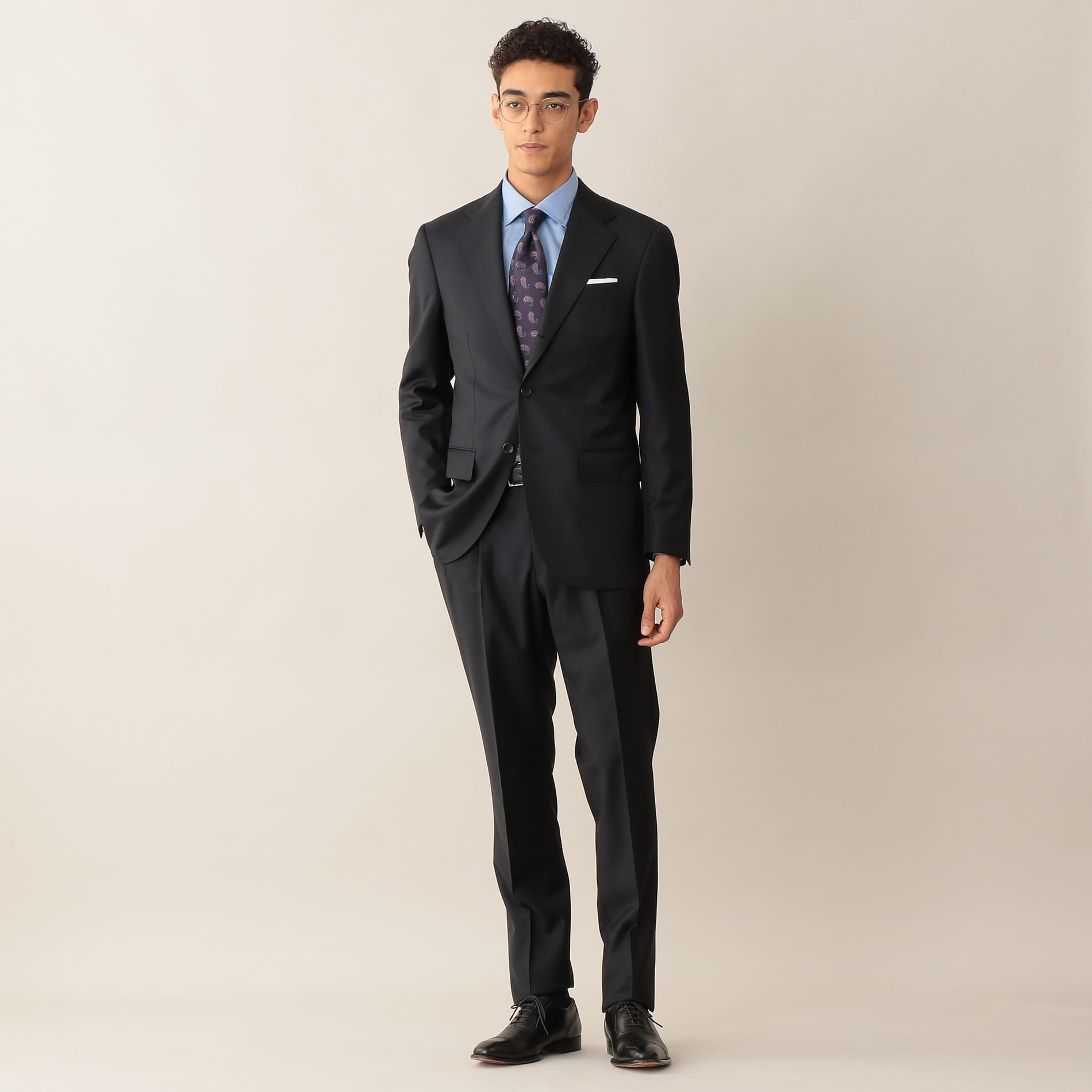 【Vitale Barberis Canonico】【NEW MODEL】 「SUPER SONIC」スーツ