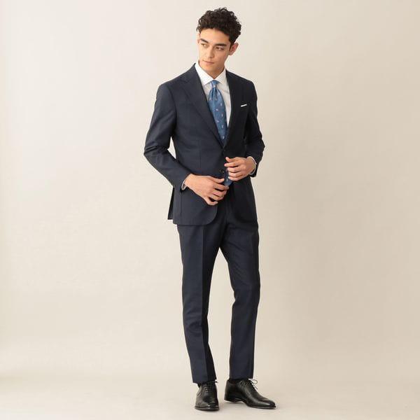 [ 24%OFF ] 【NEW MODEL/BAKER MODEL】ウールピンヘッドスーツ/セットアップ