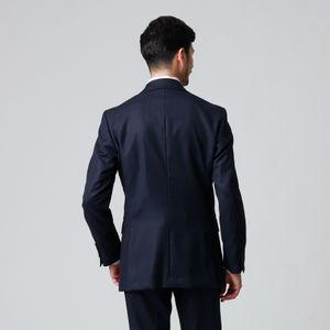 【GLOBAL×EASTGATE MODEL】「10month」シェイテッドストライプウールスーツ/セットアップ 21FW