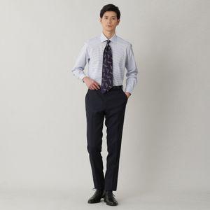 ◇◇グラフチェックブロードドレスシャツ/ワイドカラー