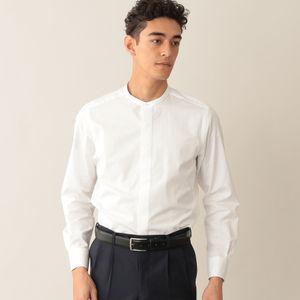 コットンブロードバンドカラーシャツ