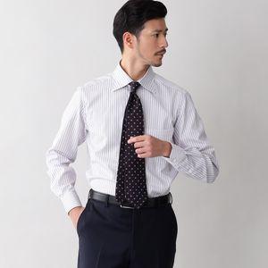 イージーケアドビーストライプフライボタンダウンシャツ/セミワイドカラー(形態安定) 21FW