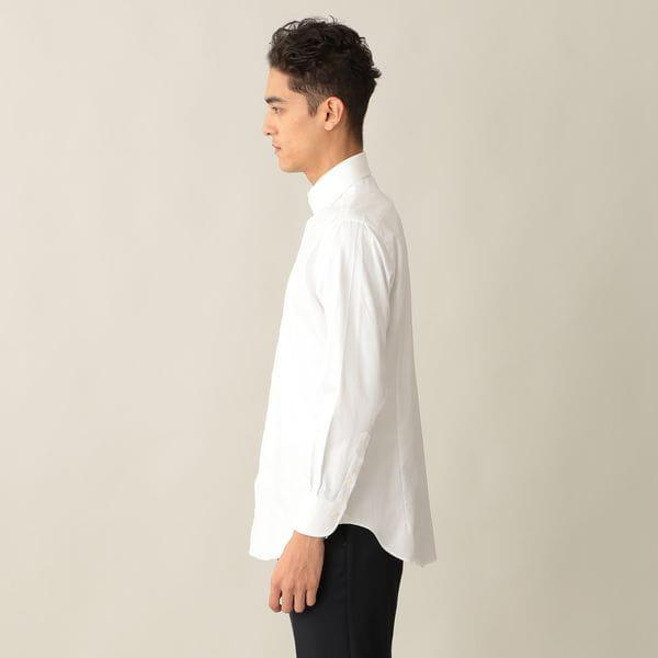 GIZAガス焼き フレンチツイルドレスシャツ