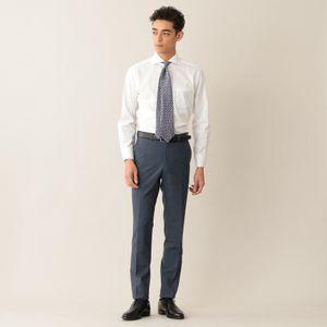 ◆◆イージーケアロイヤルオックスフォードドレスシャツ/ホリゾンタルカラー(形態安定)