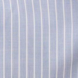 [ 47%OFF ] ストライプイタリアンカラーシャツ(カジュアルシャツ)