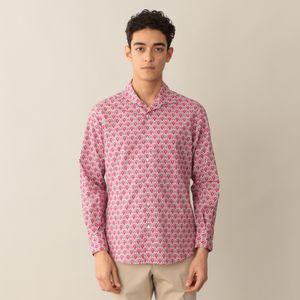 [ 48%OFF ] リバティープリントイタリアンカラーシャツ