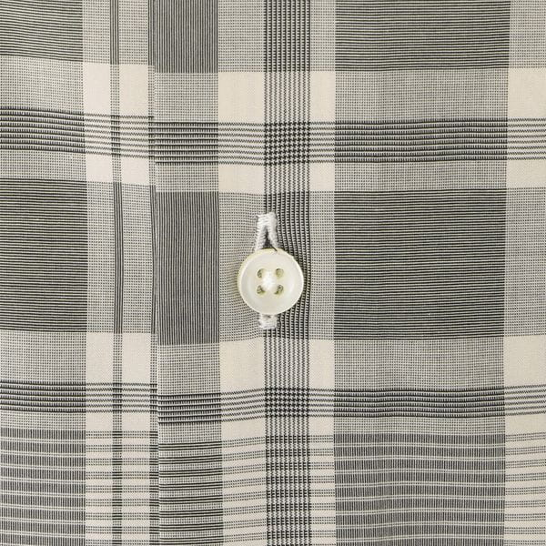 モノトーンチェックシャツ