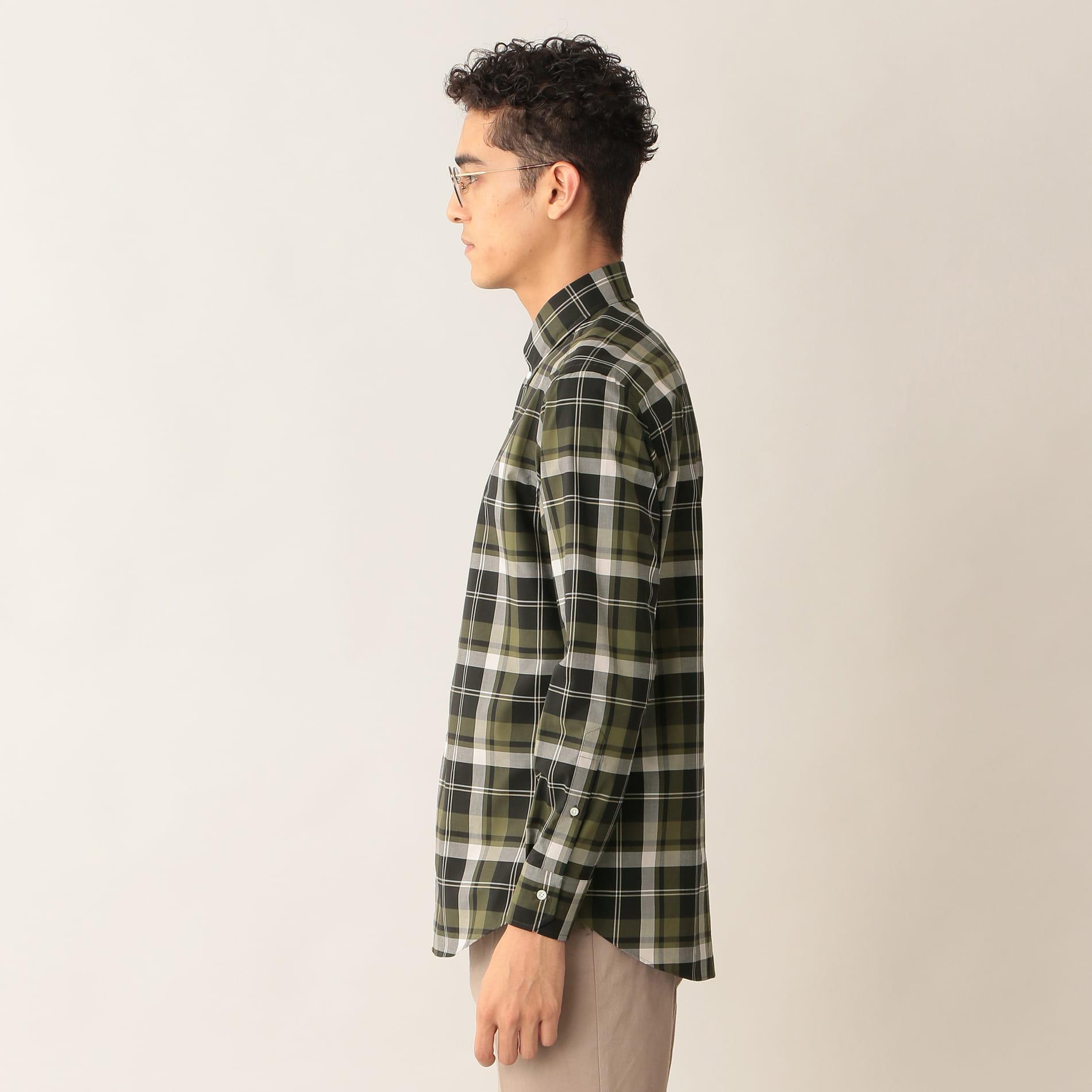 タータンチェックシャツ