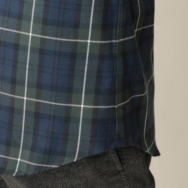 キャッシュチェック B.D カラー シャツ