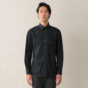 [ 40%OFF ] ダークタータンチェックボタンダウンシャツ(カジュアルシャツ)