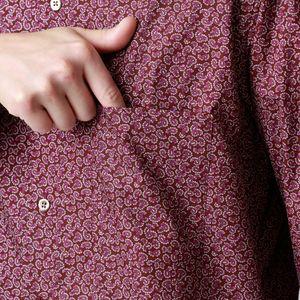 ヴィンテージプリントボタンダウンシャツ(カジュアルシャツ) 21FW
