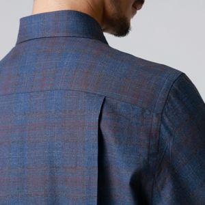 グラデーションシャドウチェックシャツ(カジュアルシャツ) 21FW