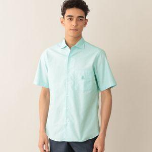 [ 20%OFF ] コットンカラミシャツ/サマーシャツ(COOLBIZ/クールビズ対応)