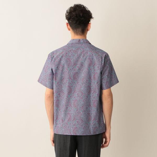 [ 53%OFF ] リバティープリントオープンカラーシャツ
