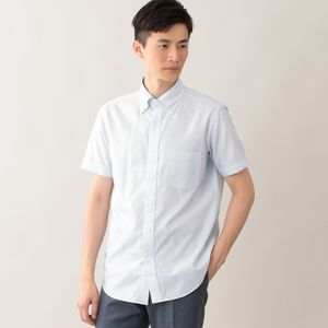 [ 62%OFF ] コットンキュプラドビー半袖シャツ(クールビズ/ビジネスカジュアル対応)