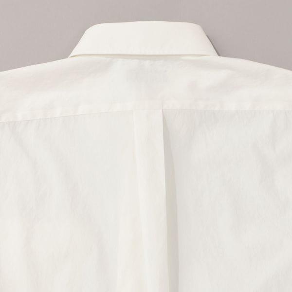 【限定モデル】「STUART'S TRAVELER」コットンライクタフタボタンダウンシャツ