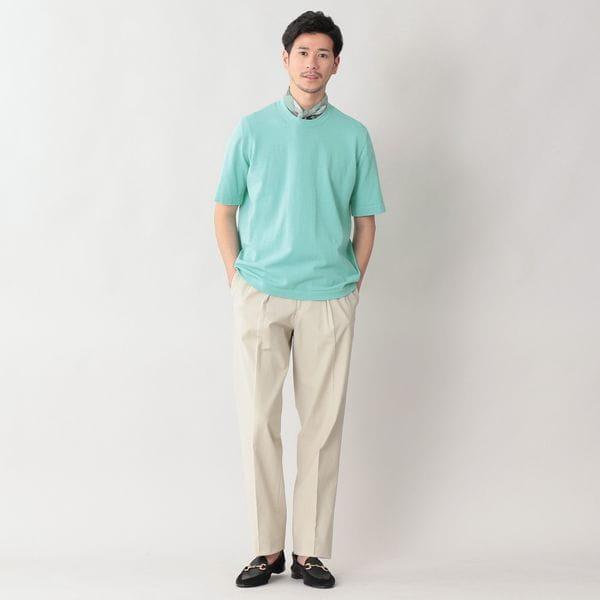 [ 25%OFF ] トラベラーコットンリネンTシャツ/カットソー