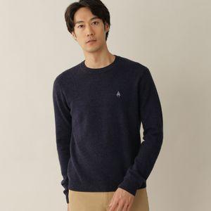 [ 27%OFF ] ウールカシミヤメランジニットクルーネックセーター