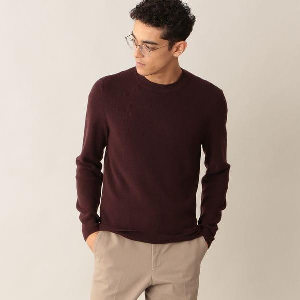 [ 48%OFF ] ウールニットクルーネックセーター