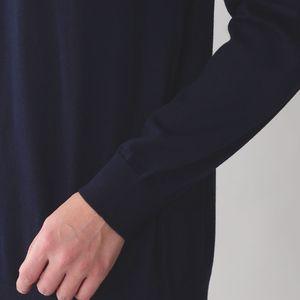 ウールハイゲージニットモックネックセーター 21FW