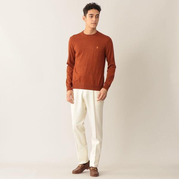 [ 21%OFF ] 【限定カラー】リミテッドカラーウールニットクルーネックセーター