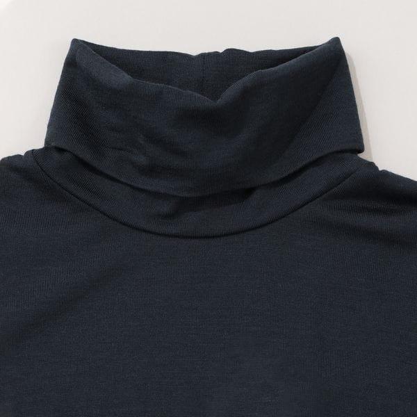 【限定モデル】「STUART'S TRAVELER」ウォッシャブルウール天竺タートルネックTシャツ/長袖カットソー