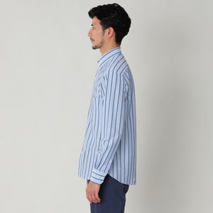 ◇◇ストライプジャージボタンダウンシャツ(カジュアルシャツ)