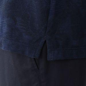 [ 17%OFF ] シャドーボタニカルプリントコットンカノコポロシャツ