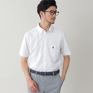 ◇◇「ビズPOLO」強撚カノコボタンダウンシャツ/フルオープンポロシャツ(COOLBIZ/クールビズ対応)