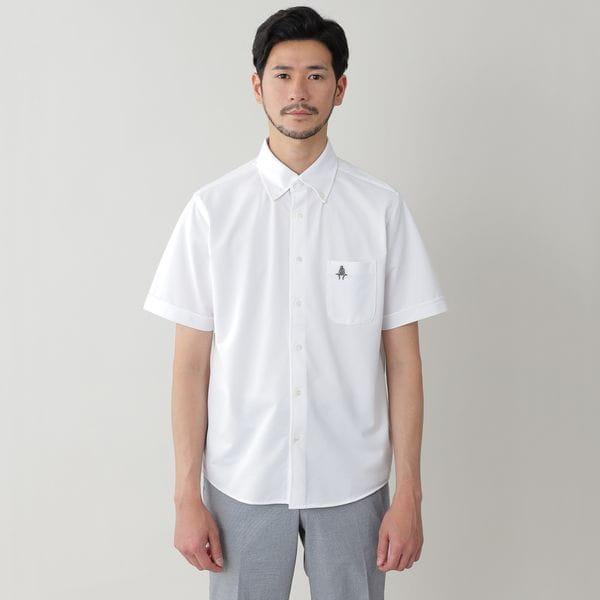 [ 20%OFF ] 「ビズPOLO」強撚カノコボタンダウンシャツ/フルオープンポロシャツ(COOLBIZ/クールビズ対応)