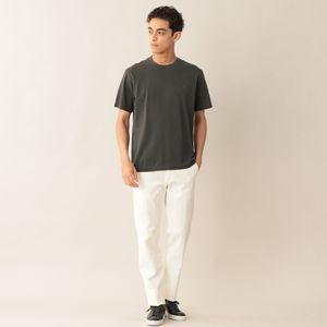 [ 22%OFF ] MOF刺繍入りエジプシャンコットンカノコTシャツ/カットソー