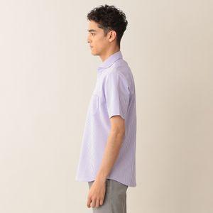 [ 25%OFF ] コットンニットサッカーシャツ/サマーシャツ(クールビズ/ビジネスカジュアル対応)