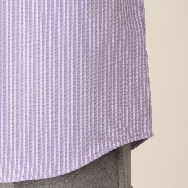 [ 25%OFF ] コットンニットサッカーシャツ/サマーシャツ(COOLBIZ/クールビズ対応)