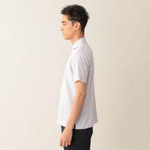 [ 25%OFF ] ミニボーダーコットンカノコポロシャツ(アイコンポロシャツ)
