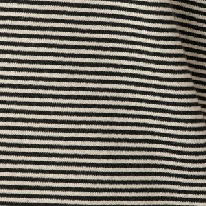 アンチスウェットステインコットンボーダーTシャツ/アイコンTシャツ(汗染み防止)
