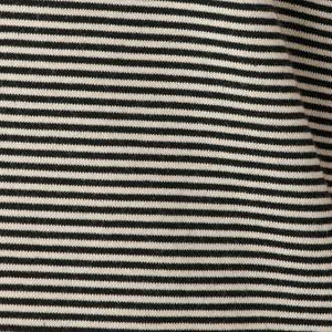 アンチスウェットステインコットンボーダーTシャツ/カットソー(汗染み防止)