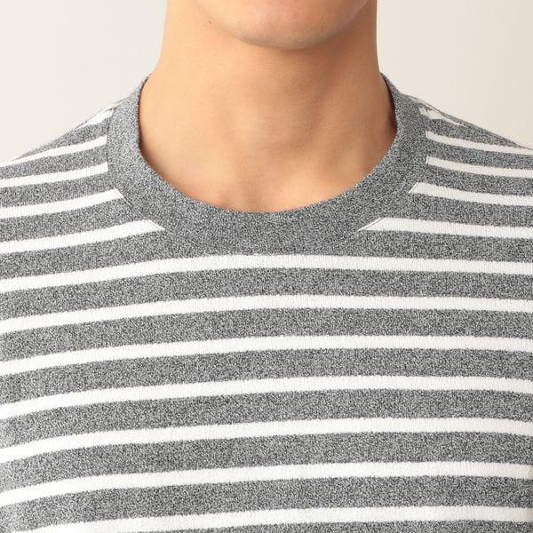 [ 40%OFF ] コットンアムンゼンボーダーTシャツ