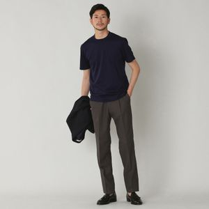 【青山本店/WEB限定】「Dress Tee Shirts」 コットンスムースドレスTシャツ/カットソー