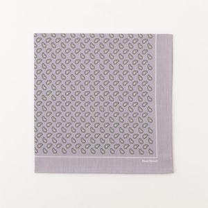 [ 47%OFF ] 小紋ペイズリー柄プリントハンカチ