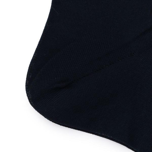 ソリッドPS刺繍ソックス/靴下