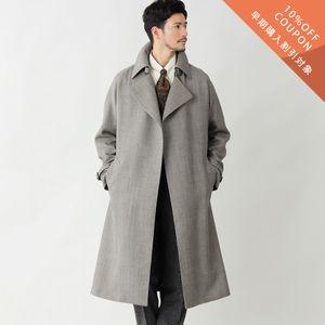 【予約販売】【数量限定】「COLLECTION LINE」ダブルクロスクリフォードコート/タイロッケンコート(Clifford Coat)